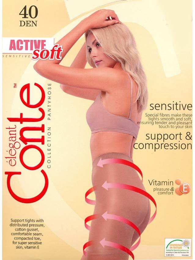 Женские колготки Active Soft 40 Conte