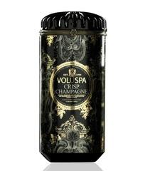 Ароматическая свеча Voluspa Искрящееся шампанское в керамическом подсвечнике
