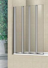 Стеклянная шторка на ванну Welt-Wasser WW 100ZF4 100 см