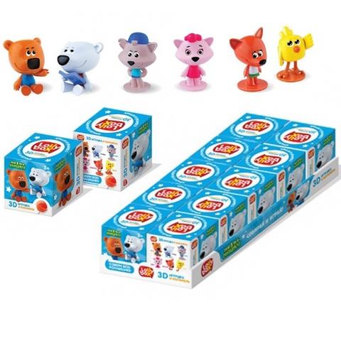LOLLY BOX МИ-МИ-МИШКИ Карамель на палочке с игрушкой в коробочке 1кор*12бл*10шт, 11,4г.