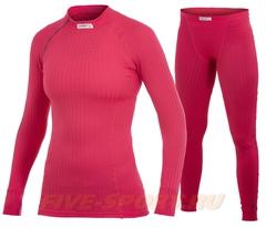 Женский комплект термобелья Craft Active Extreme pink (190987-1477-190989-1477)