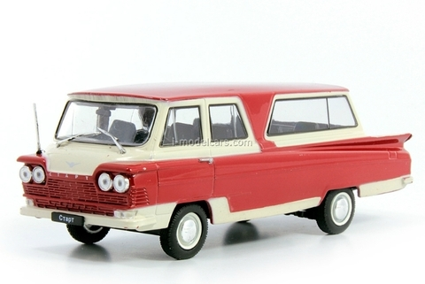 Start beige-red 1:43 DeAgostini Auto Legends USSR Best #7