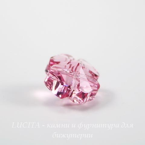 5752 Бусина - Клевер Сваровски Light Rose 12 мм