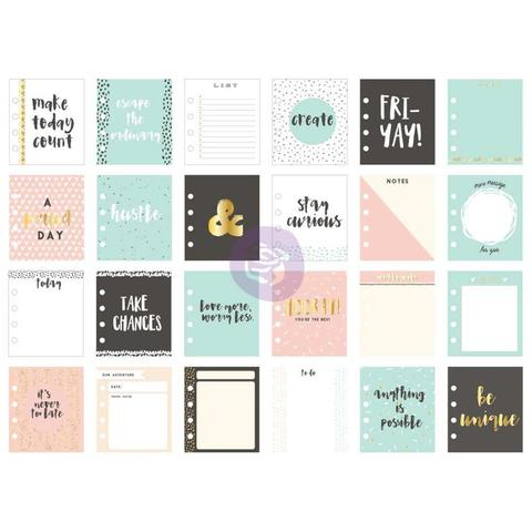 Журнальные карточки My Prima Planner Watercolor Journaling Cards  - Stay Curious -24шт.