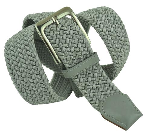 Ремень-резинка текстильный светло-серый 35 мм 35Rezinka-156