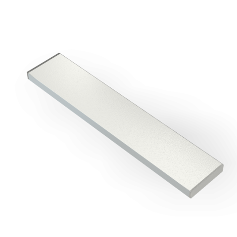 Магнит 50х6х2 мм, N38, никель, неодимовый блок