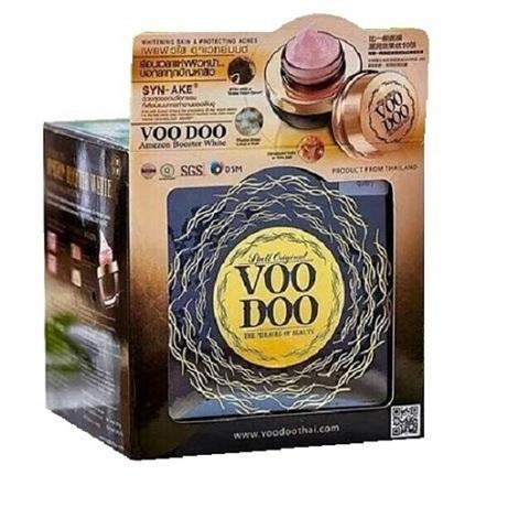 Voodoo Amezon Booster White Snake  3 в 1, Омолаживающий крем-маска для лица с эффектом ботокса, 30 мл