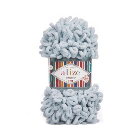 Купить Пряжа Ализе Пуффи Файн Код цвета 500 | Интернет-магазин пряжи «Пряха»
