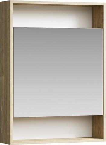 Сити Шкаф-зеркало 60 см , цвет дуб балтийский, SIT0406DB
