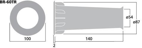 Фазоинвертор BR-60TR