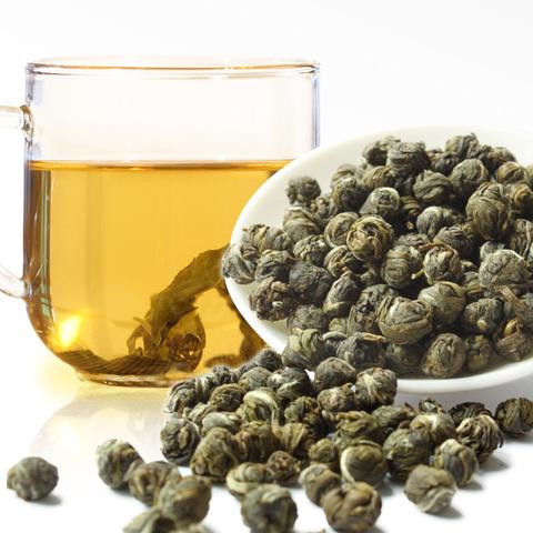 Китайский зеленый чай с жасмином «Жемчужина», рассыпной