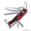 Нож перочинный Victorinox RangerGrip 78 130мм 12 функций красно-чёрный (0.9663.MC) нож перочинный victorinox swisschamp 1 6795 lb1 красный блистер