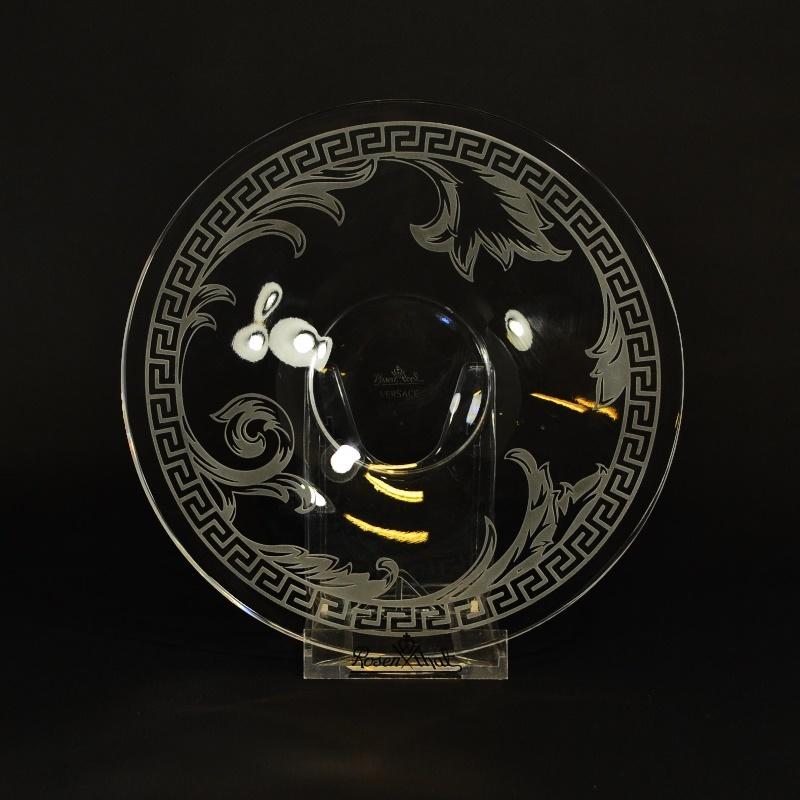 Тарелка 17 см Versace, Arabesque (Хрусталь и стекло Rosenthal)