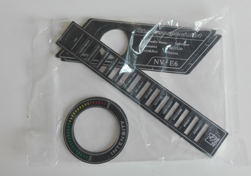 Лицевая панель-стикер от аппарата NV-E6 (комплект)