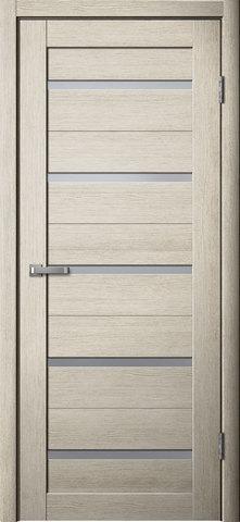 Дверь Porte line Мюнхен 26, стекло матовое, цвет ясень 3D, остекленная