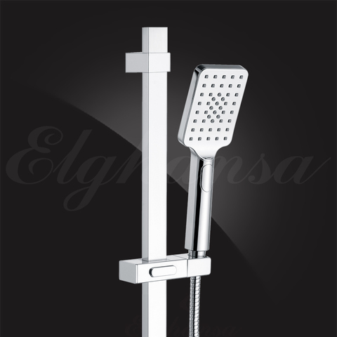 Лейка душевая Elghansa HAND SHOWER PK-017-Chrome 80х110 мм Chrome, хром