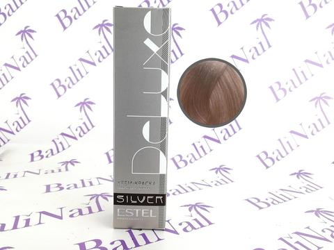10/76 Светлый блондин коричнево-фиолетовый De Luxe Silver