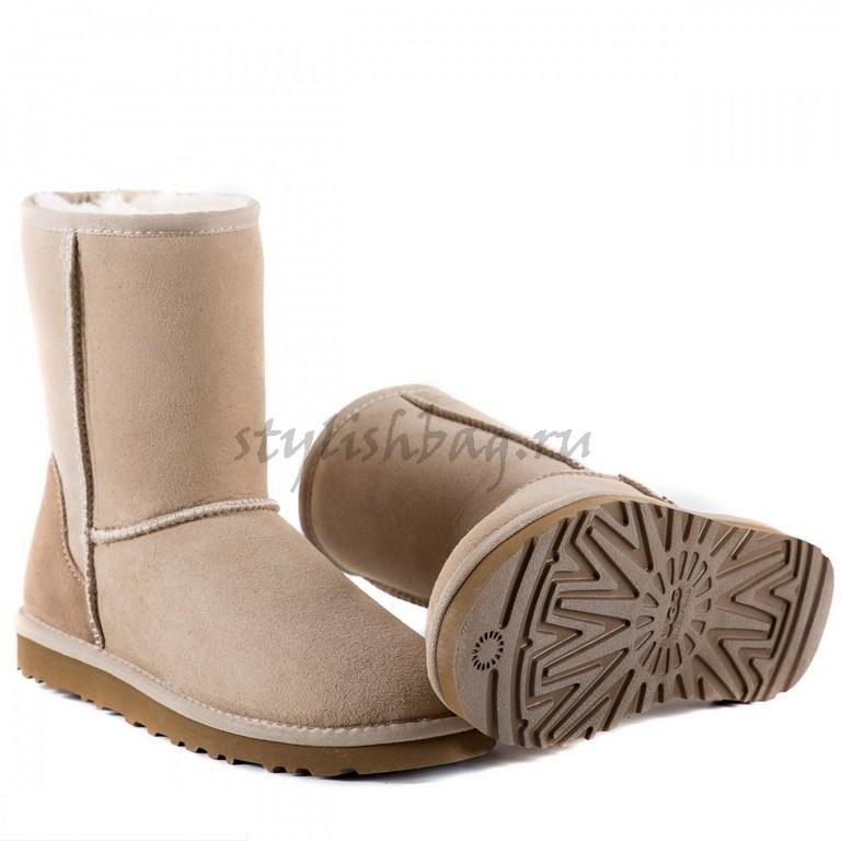 Женские угги UGG Short Sand