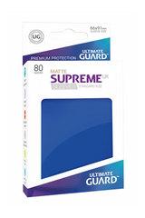 Ultimate Guard - Синие матовые протекторы 80 штук в коробочке