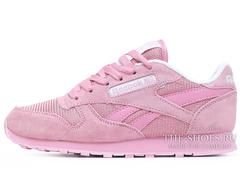 Кроссовки Женские Reebok Classic Leather All Pink