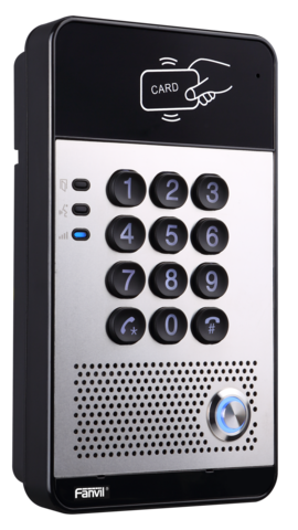 Fanvil i20s - SIP Audio Door Phone (POE) - SIP аудиодомофон, 2 SIP линии, RFID, IP54