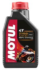 Моторное масло MOTUL 7100 4T SAE 10W30
