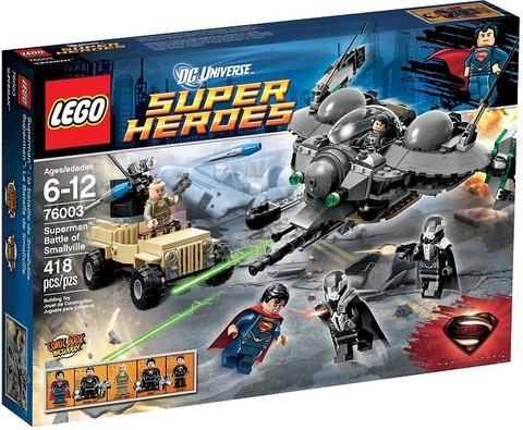 LEGO Super Heroes: Битва Супермена за Смолвиль 76003 — Superman: Battle of Smallville — Лего Супергерои ДиСи