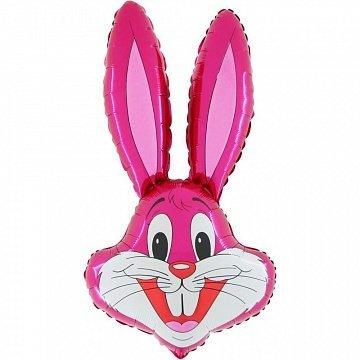 Голова Кролика розовая