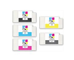Комплект из 5 картриджей для Epson 7700/9700 5x350 мл