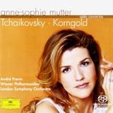 Anne-Sophie Mutter, Wiener Philharmoniker, London Symphony Orchestra, Andre Previn / Tchaikovsky, Korngold: Violin Concertos (SACD)
