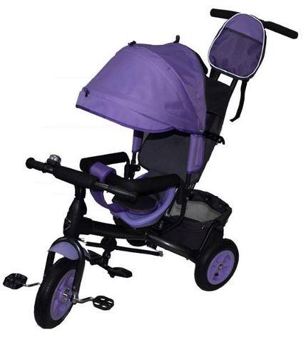 Велосипед детский с надувными колёсами (фиолетовый)