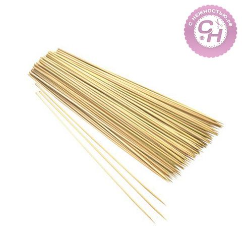 Палочки (шпажки) для декора, бамбук, 20 см, 85-90 шт.