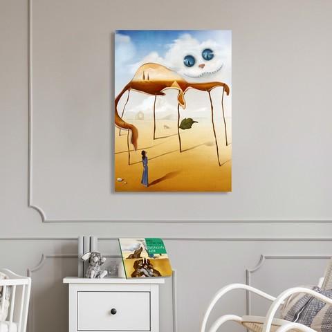 Картина «Чеширский кот» 60х40см или 90х60 см