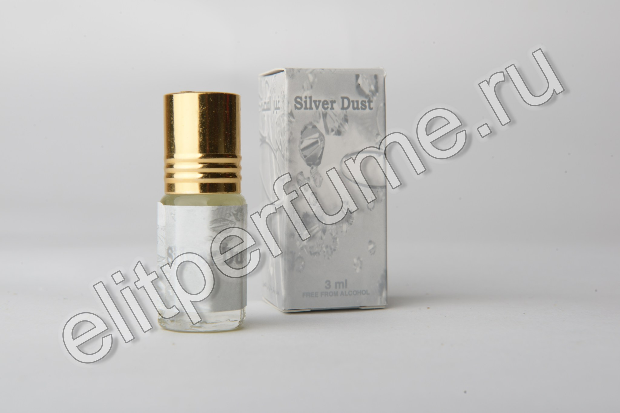 Silver Dust 3 мл арабские масляные духи от Захра Zahra Perfumes