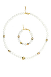 Комплект Arlecchino Lungo Bianco (ожерелье, браслет)