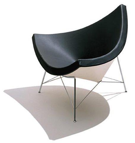 replica coconut armchair ( leather