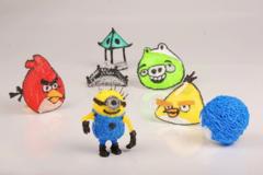 PLA пластик для 3D ручки 50 метров (10 цветов по 5 метров)