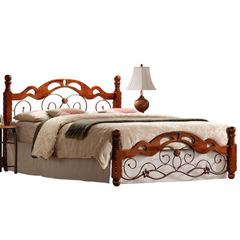 Кровать PS 8812 (MK-1923-RO) Rose Oak