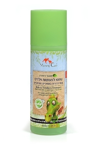 Kids&Toddlers Natural Shampoo Натуральный шампунь 400 мл. (стандарт)