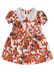 692-2 платье детское, оранжевое