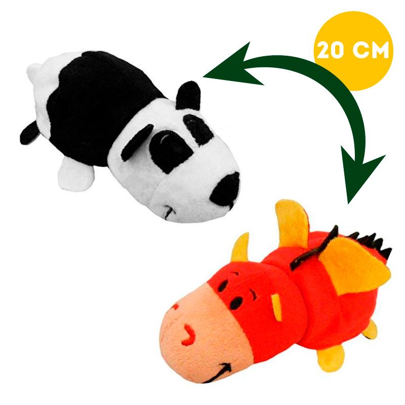 Вывернушка 2в1 Дракон-Панда, 20 см - Вывернушки, артикул: 963256