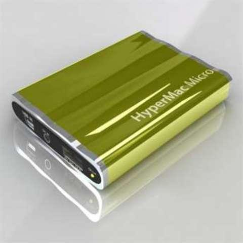 HyperMac Micro 3600mAh – внешняя батарея для iPhone/iPod (Yellow)