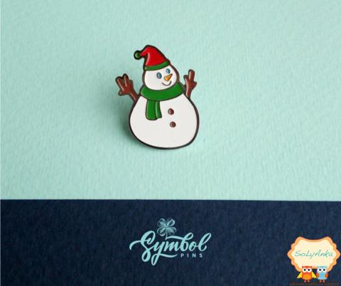 Пін Symbol pins Сніговик