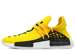 Кроссовки Мужские ADIDAS NMD x Pharrell Williams NMD Human Yellow Black