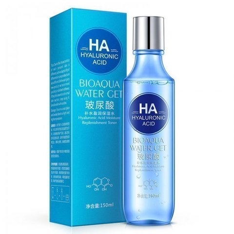 Bioaqua Тонер с гиалуроновой кислотой Hyaluronic Acid Water Get Toner, 150 мл