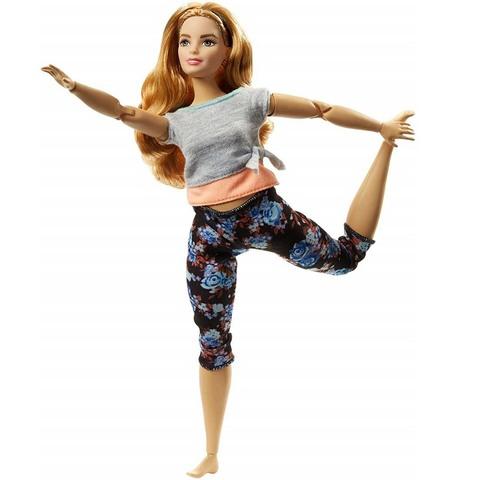 Барби в сером топе Шатенка. Безграничные движения
