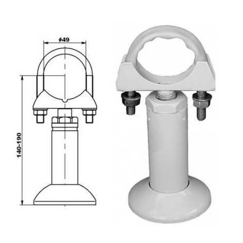 Кронштейн для радиатора напольный ТВЕК.10.1 (для радиаторов RIFAR)