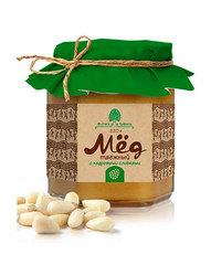 Мёд Таёжный, Сибирский Кедр, с кедровыми орехами, 220 г.