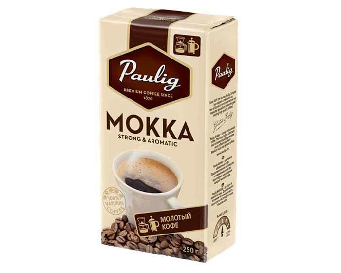 Кофе молотый Paulig Mokka, 250 г