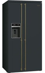 Холодильник Smeg SBS8004AO фото